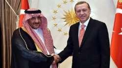 Muhammed bin Nayif Türkiye'ye geliyor